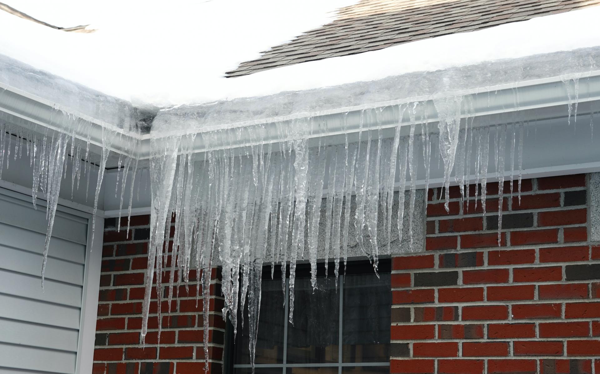 gutters ice